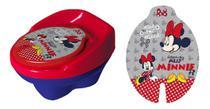 Troninho Disney Minnie Infantil Pinico Para Bebe 2 Em 1 - Styll Baby