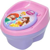 Troninho Disney PRINCESAS Infantil Pinico Para Bebe 2 Em 1- Styll Baby -
