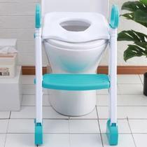 Troninho Infantil Com Escada Assento Redutor Vaso Sanitário - Amigold