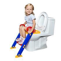 Troninho Infantil Com Escada Assento Redutor Vaso Sanitário - Toilet Trainer