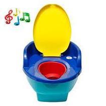 Troninho Infantil Musical C/ Redutor 3 X 1 - Love - Colorido -
