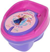 Troninho Infantil Penico Para Bebê Disney Frozen Lilás 2 x 1 - Styll