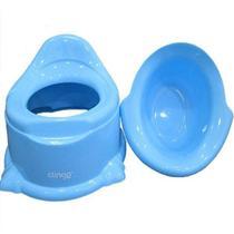 Troninho Infantil Penico Pinico Potty Azul - Clingo -
