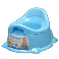 Troninho Infantil Penico Pinico Potty Azul Clingo -