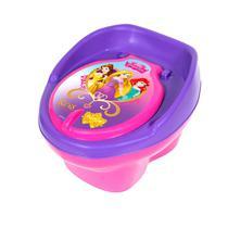 Troninho Infantil Pinico Assento Redutor Rosa Princesas - Styll Baby