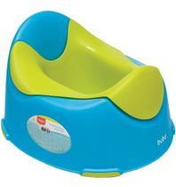 Troninho Infantil Pinico Azul E Verde Menino Assento Bebe - Buba