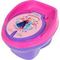 Troninho lilas rosa frozen irmas - fisher price -