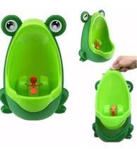 Troninho Para Bebe Menino Mais Diversao E Higiene Mictorio Infantil Pinico Sapinho Verde Auxiliar No Desfralde Kababy . -
