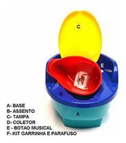 Troninho Penico Infantil Musical 3 Em 1 505 - Love -
