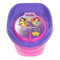 Troninho Penico Privadinha Infantil Lilas Princesas Disney Styll Baby - Styllbaby
