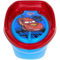 Troninho Pinico Infantil Carros Disney Styll Baby relâmpago mcqueen novo penico 2 em 1 degrau vaso sanitario -