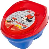 Troninho Pinico Infantil Penico Bebe Disney Minnie Styll -