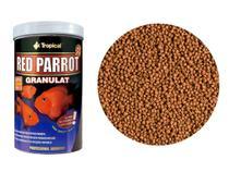 Tropical Red Parrot 400g Ração Ciclídeos & Peixe Papagaio -