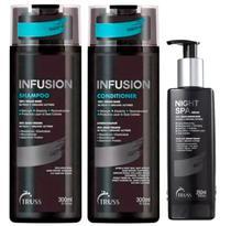 Truss Infusion - Kit Shampoo + Condicionador + Night Spa -