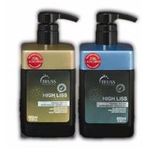 Truss Kit Selagem Térmica High Liss Normal + Blond Violeta - Senscience