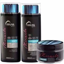 Truss Miracle Kit Shampoo 300ml + Condicionador 300ml + Máscara 180g -