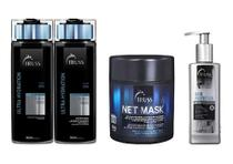 Truss Shampoo E Cond. Ultra + Net Mask + Hair Protector - Geral