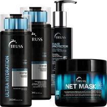 Truss Shampoo E Cond. Ultra + Net Mask + Hair Protector - Geral