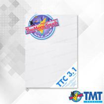 TTC 3.1/3.3 A4  Transfer para impressora Laser para tecidos brancos ou claros - Tmt