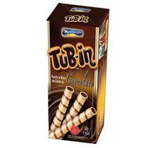 Tubinho de Wafer Tub In Recheio Chocolate 48g - Montevérgine -