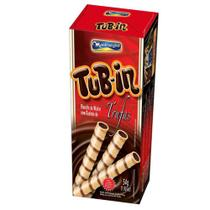 Tubinho de Wafer Tub In Recheio Trufas 48g - Montevérgine -