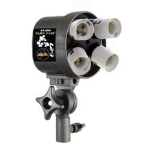 Tubo Base para Iluminação Fluorescente ou Led rosca E27 - Atek 010 Quad -