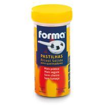 Tubo de Pastilhas Álcool Sólida para Queimadores com 8 pastilhas Forma -
