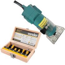Tupia Manual Laminadora 350W com Jogo de Fresa 110v - Songhe tools