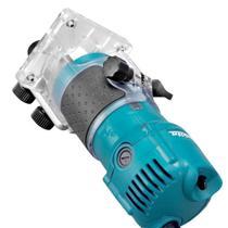 Tupia Manual Laminados 530w Makita 3709 Com Kit Completo-127V -