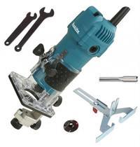 Tupia Manual Laminados 530w Makita 3709 Com Kit Completo-220V -