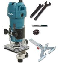 Tupia Manual Laminados 530w Makita 3709 Kit Completo Frete -
