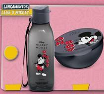 Tupperware Mickey Eco Garrafa 500ml e Pote Redondo 300ml -