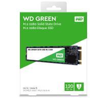 TURBINE SUA MÁQUINA! SSD WD Green 120GB M.2 Leitura 545MB/s - WDS120G2G0B Não efetuamos a instalação - Acer