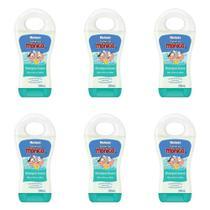 Turma da Mônica Shampoo Infantil Suave 200ml (Kit C/06) -