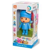 Turma do Pocoyo Boneco de Vinil Pocoyo Cardoso Toys -