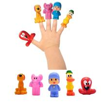 Turma Do Pocoyo Miniaturas Dedoche 5 Peças Bonecos - Cardoso Toys