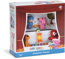 Turma do Pocoyo Miniaturas Dedoche 5 Peças - Cardoso Toys -