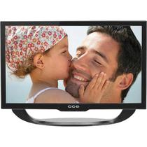 Tv 24 Led Cce, Hdmi, Usb, Dtvi - Ln24 - Reembalado