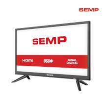 TV 24 Polegadas Semp Led HD USB HDMI S1300 - Semp toshiba