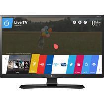 """Tv 24"""" smart lg 24mt49s-ps led hd conversor digital wi-fi integrado usb hdmi webos 3.5 screen share -"""
