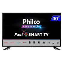 TV 40 Polegadas Philco Led Smart Wifi Hd Usb Hdmi Ptv40g60snbl -