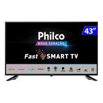 TV 43 Polegadas Philco Led Smart Wifi Hd Usb Hdmi Ptv43e10n5sf -