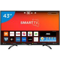 Tv 43p aoc led smart wifi full hd usb hdmi - le43s5970s