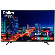 TV 4K Led Philco PTV55U21DSWNT Netflix