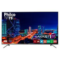 TV 4K Led Philco PTV75E30DSWNT Netflix
