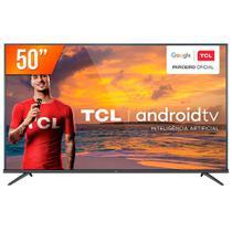 TV 50 Polegadas Tcl Led Smart 4k Android Comando de Voz 50p715 - Semp Toshiba