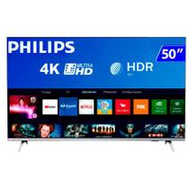 Tv 50p philips led smart 4k usb hdmi - 50pug6654 - Aoc Linha Marrom