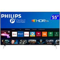 TV 55 Polegadas Philips Led Smart 4k Wifi Usb Hdmi 55pug7625 - Aoc Linha Marrom