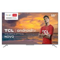 TV 55 Polegadas TCL LED Smart 4k Android Comando de Voz 55p715 -