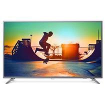 Tv 55p philips led smart 4k usb hdmi - 55pug6513 - Aoc linha marrom
